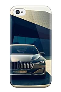Anti-scratch And Shatterproof Bmw Vision Future Luxury Car Phone Case For Iphone 4/4s/ High Quality Case