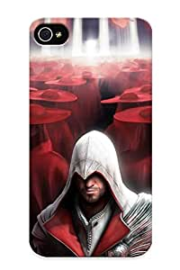 Flyingangela Brand New Defender Case For Iphone 4/4s (assassin Creed Brotherhood) / Christmas's Gift