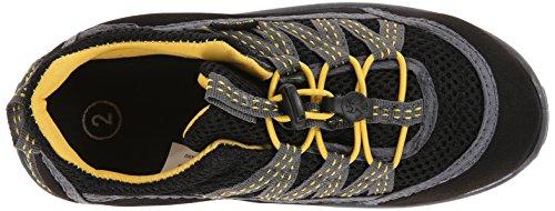 Northside Brille II Hiking Boot (Infant/Toddler/Little Kid), Black/Yellow, 7 M US Toddler