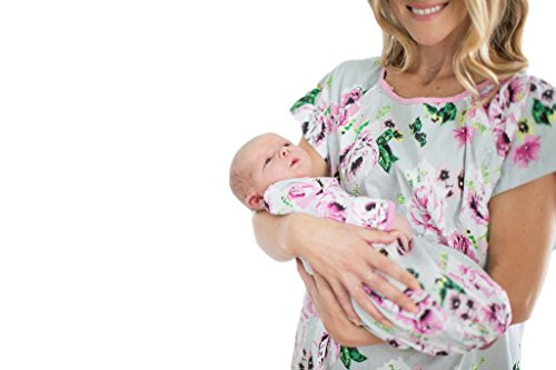 Matching Mommy And Baby Pajamas - Baby Be Mine Newborn Gown and