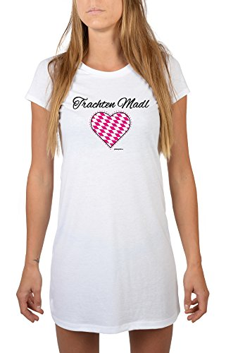 Goodman Design ® - Camisón - para mujer Weiß