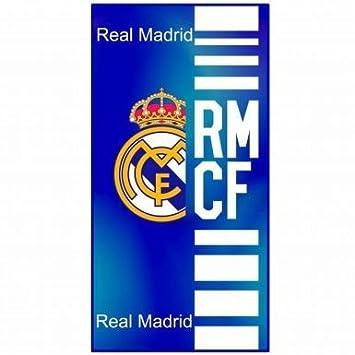 Oficial REAL MADRID Crest toalla gigante (75 cm x 150 cm): Amazon.es: Deportes y aire libre
