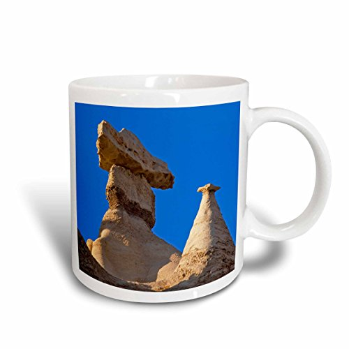 3dRose Badlands Rock Formation, Bisti Wilderness, New Mexico - Chuck Haney Ceramic Mug, ()