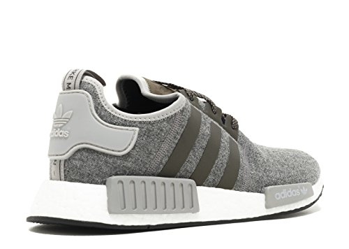 ... Adidas Nmd_r1 (ull Pack) (7.5, Grå / Hvit)