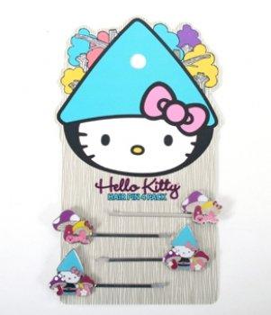 Hello Kitty Hair Pin (Hello Kitty Gnome 2-pack Hair Pins)