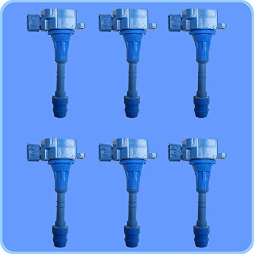 (New Premium High Performance Ignition Coil Set (6) For Nissan Infiniti)