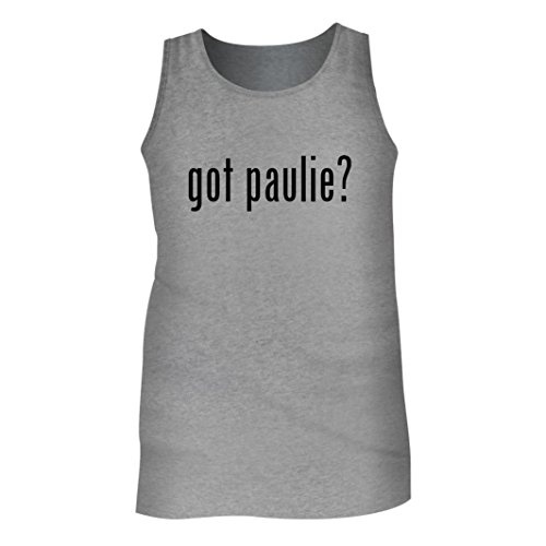 Tracy Gifts Got Paulie? - Men's Adult Tank Top, Heather, X-Large