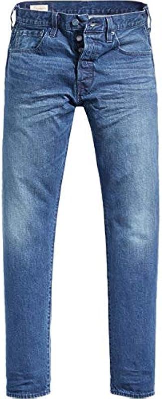 Levis 501 Slim Tapered dżinsy męskie: Odzież