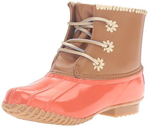 Jack Rogers Kvinna Chloe Klassiska Regn Boot Brand Korall