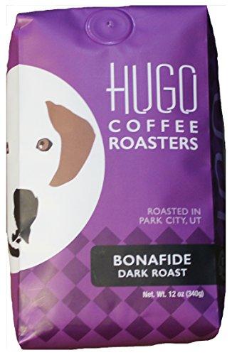 Hugo Bonafide Dark Roast Coffee Roasted Beans - 12 oz (Whole bean)