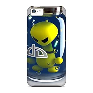 Hot Style Protective Case Cover For Iphone5c(alien)