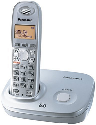 (Panasonic Dect 6.0 Expandable Digital Cordless Phone - Single Handset System (KX-TG6311S))
