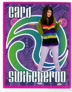 Selena Gomez trading card game card Wizards of Waverly Place (Switcheroo) 2x2