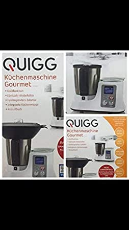 Quigg Robot de cocina Gourmet: Amazon.es: Hogar