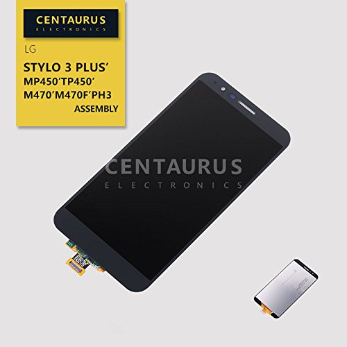 For LG Stylo 3 Plus MP450 TP450 M470 M470F PH3 Full LCD Display Touch Screen Digitizer Assembly Gray US by centaurus (Image #1)