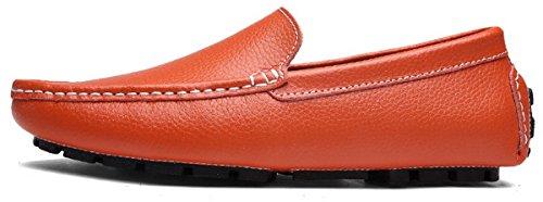 Mocasines Orange JOOMRA Zapatos 49 4 para Hombre 38 1wB8dw
