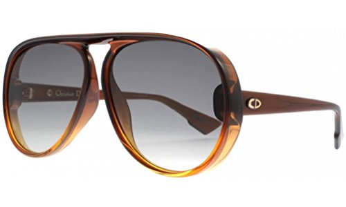 DiorLia 12J Brown Orange - Made In Italy Dior Sunglasses