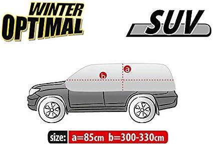 UV Schutz Abdeckplane Halbgarage Sonneschutz Schneeschutz Winter /& Sommer Gr/ö/ße L-XL kompatibel mit Opel Astra IV J Kombi