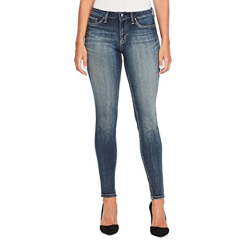 Jessica Simpson Women's Kiss Me Skinny Jeans, Wright, 28 Short