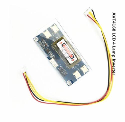 4 lámpara de luz de fondo universal portátil LCD CCFL inversor 10 - 30 V para 15