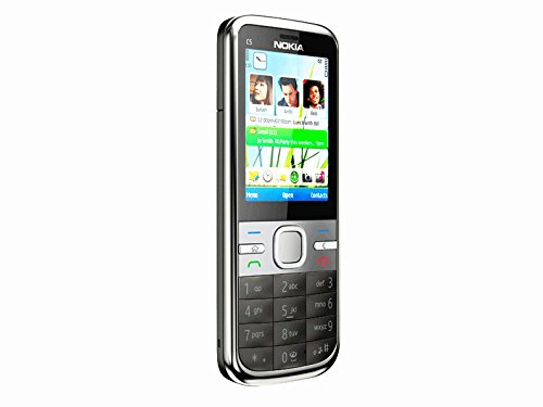Unlocked Original Genuine Nokia C5-00i Bar Smart 3 G Mobile Phone Support Validation
