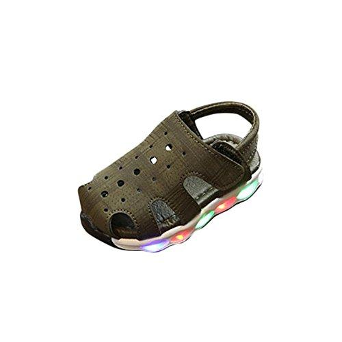 HCFKJ 2018 Nuevo Estilo Hombre Hombre Infantil Infantil Hombre Moda Sneaker Luz cb52f5