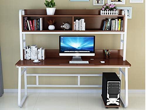 Escritorio de oficina Computadora de escritorio con 3 estantes de ...