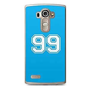99 LG G4 Transparent Edge Case - Numbers Collection