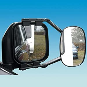 2 x Vision mirrors 4x4 caravan towing mirror