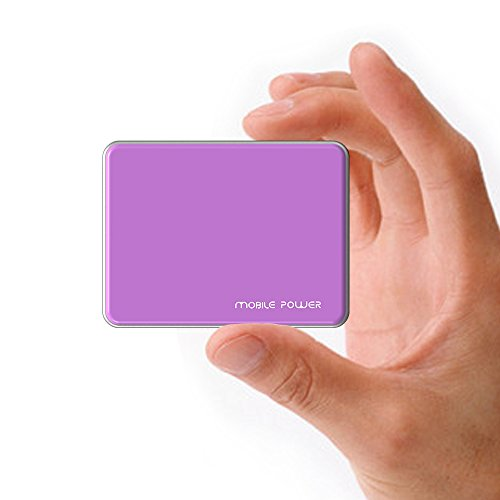 MAXOAK 5200mah Power Pack Power Bank Portable Charger Extended Backup Battery for Smart Phone Iphone 6 Plus 6 5s 5c 5 4s Ipad Air Mini Android Cell Phone Samsung Galaxy S5 S4 S3 Note Nexus 6 Moto X Lg G3 HTC Nokia Motorola and More - S12 Purple