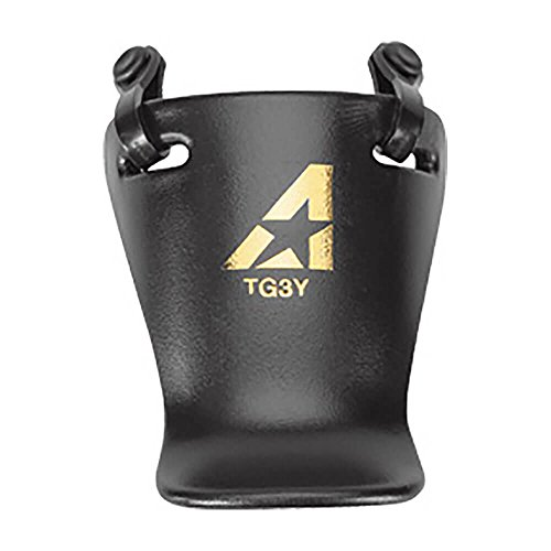 Baseball/Softball Throat Guards (2 Sizes/3 Colors) (Youth, Black)