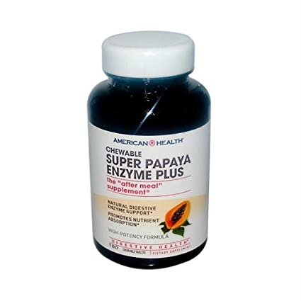 American Salud Papaya Enzima Plus Spr: Amazon.com: Grocery ...