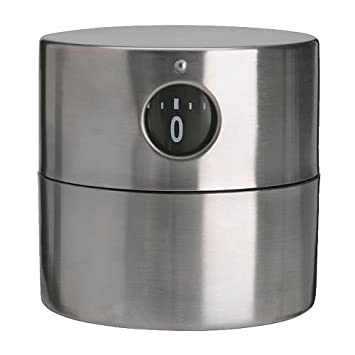 IKEA ORDNING timer stainless steel (80174464) (japan import): Amazon.es: Hogar