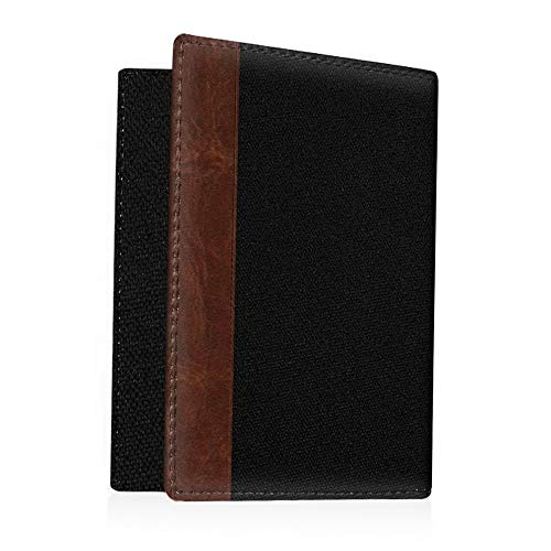 Mikash Travel Passport Holder Wallet Holder RFID Blocking Vegan Leather Card Case Cover | Model TRVLWLLT - 18 |