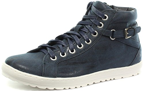 Eye Navy 8 Shoes Side Zip Cipriata up Octavia Lace Womens XwFxI