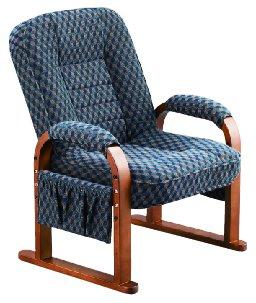 コイズミ  身体にやさしい椅子 シリーズ  リクライニングチェア KSC-956 NB (ネービーブルー色) B00ZK8TAXA KSC-956 NB KSC956 NB
