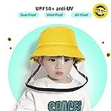 EXTSUD Dustproof Sunhat Cotton Packable Sun Hats