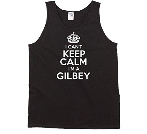 Gilbey I Cant Keep Calm Parody Tanktop L Black