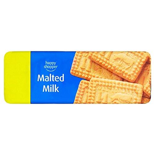 Comprador feliz malteados Bizcochos de leche 200g (paquete de 12 x 200 g)