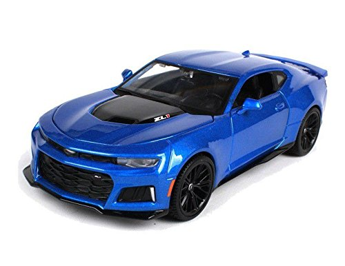 Edition Special Display (NEW 1:24 DISPLAY MAISTO SPECIAL EDITION COLLECTION - Blue 2017 Chevrolet Camaro ZL1 Diecast Model Car By Maisto (Without Retail Box))