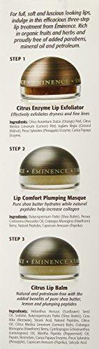 Eminence Organics Lip Trio, 0.27 fl oz.