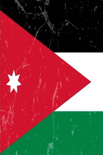 Jordan Flag Journal: Jordan Travel Diary, Jordanian Souvenir, lined Journal to write in ()