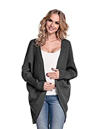 Happy Mama Womens Maternity Chunky Knit Cardigan Coat Warm Wrap. 323p