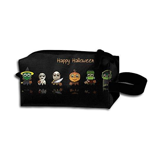 Cut Cartoon Happy Hallowen Pencil Case Medicine Bag Toiletry Bag Toiletry Pouch Makeup Organizer Clutch Bag With Zipper For Women Girls]()