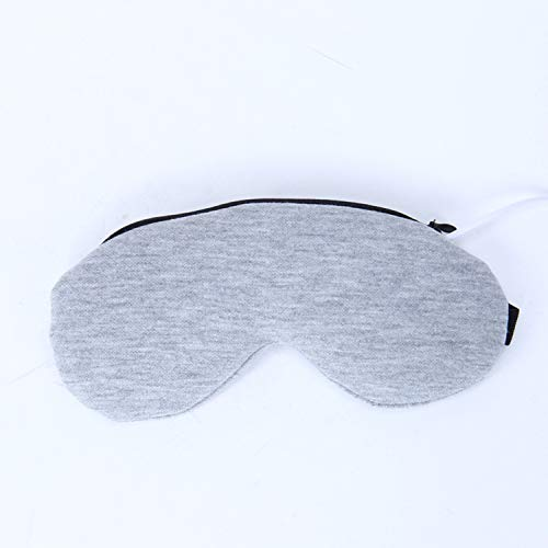 Electric Heated Eye Mask, USB Sleep Mask with Adjustable Temperature and Time Control, Warm and Cold Massage to Relieve Dry Eye Syndrome, Eye Stress, Tired Eyes