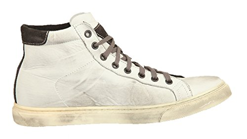 Ylati Hommes Sneakers VESUVIO White Leather 1015