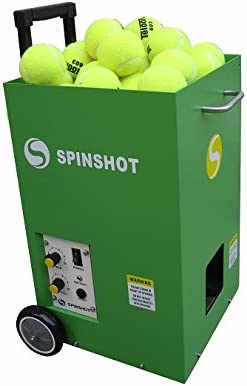 Spinshot Lite Tennis Training Machine Basic Model - Best for Intermediate Players