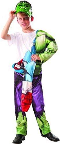 [POPLife Hulk / Captain America Deluxe Avengers Costume Superhero Muscle Chest Kids] (Super Deluxe Mermaid Costumes)