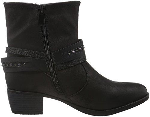 Supremo 1621303, Zapatillas de Estar por Casa para Mujer Negro