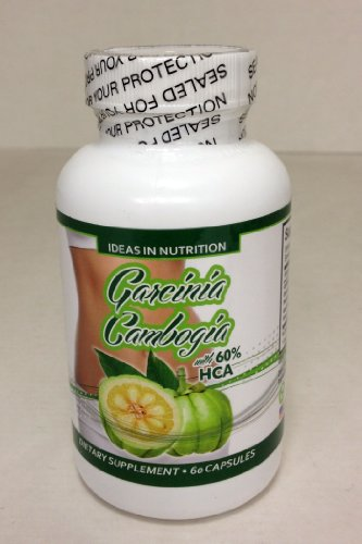 Pure Garcinia Cambogia Extract - Super Strength - Fruit Rind- Extreme Fast Acting - Fat Burner - All Natural Appetite Control & Suppressant and Weight Loss Supplement for Maximum Results - Minerals - Dietery Supplements-60 Vegetarian Capsules.